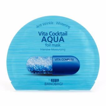 Mặt Nạ Dưỡng Ẩm Sâu Banobagi Vita Cocktail Foil Mask Hàn Quốc Dành Cho Da Khô 30Ml #Aqua