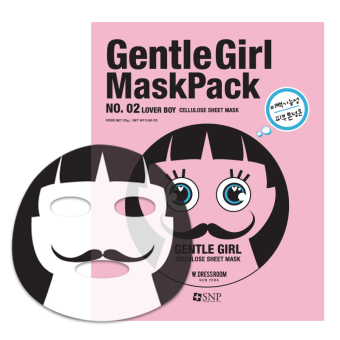 Mặt nạ dưỡng trắng LOVER BOY Gentle Girl Lover Boy Whitening Mask Pack