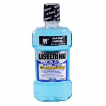 Nước Súc Miệng Giữ Răng Trắng Bóng Listerine Bright & Clean 250ml