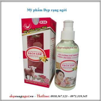 Sữa dưỡng thể trắng da - Ngăn ngừa lão hóa da Bạch sâm K26