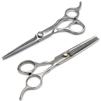 Bộ 2 kéo cắt và tỉa tóc có hộp đựng Verygood