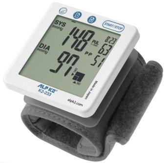 Máy đo huyết áp cổ tay tự động ALPK2 K2 233 (Trắng)