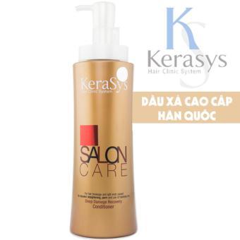 Dầu xả phục hồi tóc hư tổn nặng Kerasys Salon care cao cấp Hàn Quốc 600 ml