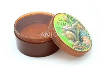 Gel dưỡng ẩm, phục hồi da và giảm thâm nám từ ốc sên Anjo Snail Moisture Soothing Gel 97% 300ml
