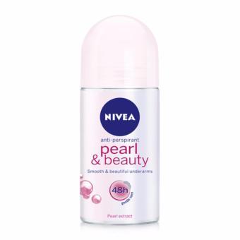 Lăn Ngăn Mùi Ngọc Trai Đẹp Quyến Rũ Nivea Pearl Beauty 48h Anti-Perspirant Roll-On 50ml