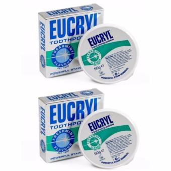 Combo 2 bột Làm Trắng Răng Eucryl Tooth Powder 50g x 2