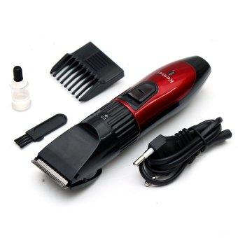 Tông đơ cắt tóc cho trẻ em KEMEI Hongkong electronics – PA730 (Đỏ phối đen)