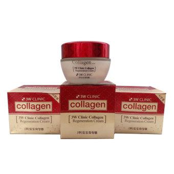 Kem dưỡng da Collagen đỏ 3W CLINIC Collagen 60g