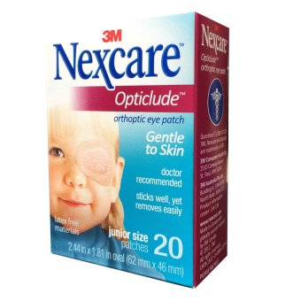 Hộp 20 miếng băng dán mắt 3M Nexcare Opticlude Orthoptic Eye Patch Junior Size
