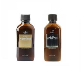Bộ dầu gội và xả siêu mượt Nashi Pure Keratin 200 ml
