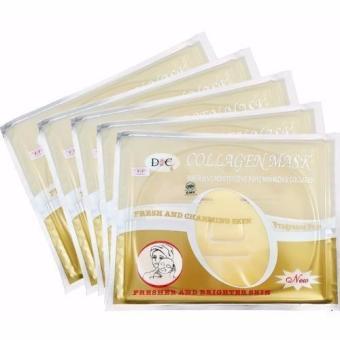 Bộ 5 mặt nạ Collagen Vàng Nano Skin Care D&C 345