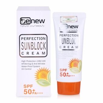 Kem chống nắng dưỡng da Perfection Sunblock Cream SPF50+ PA+++ 50ml - Hàng chính hãng