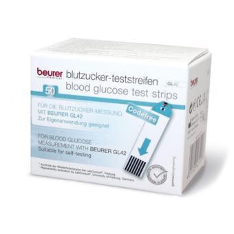 Hộp 50 que thử tiểu đường Beurer GL42 ( trắng)