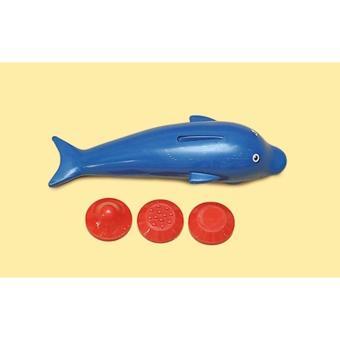 Máy massage Cá Voi nhỏ 3 đầu cho bé