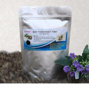 Gói Bột Than Hoạt tính 100% tự nhiên nguyên chất dùng cho mỹ phẩm 200g