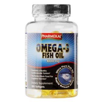 Viên dầu cá Pharmekal Omega-3 1000mg 100 viên