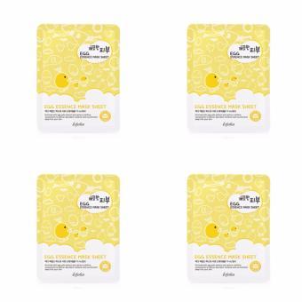 Bộ 4 gói Mặt nạ dưỡng da tinh chất trứng gà PURE SKIN 25ml- PURE SKIN EGG ESSENCE MASK SHEET