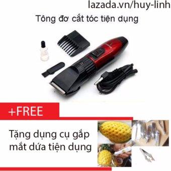 Tông đơ cắt tóc cho trẻ + Free dụng cụ gắp dứa tiện dụng