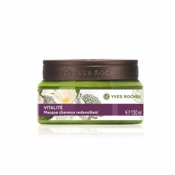Mặt nạ ủ tóc dành cho tóc thiếu sức sống Yves Rocher REDENSIFYING MASK LIFELESS HAIR 150ML JAR