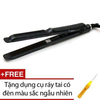 Máy duỗi tóc Verygood 838 (Đen) + Tặng dụng cụ ráy tai có đèn