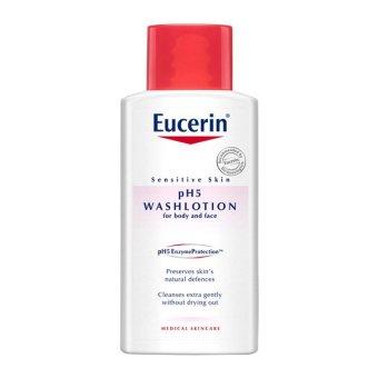 Sữa tắm dạng gel cho da nhạy cảm Eucerin pH5 Washlotion 200ml