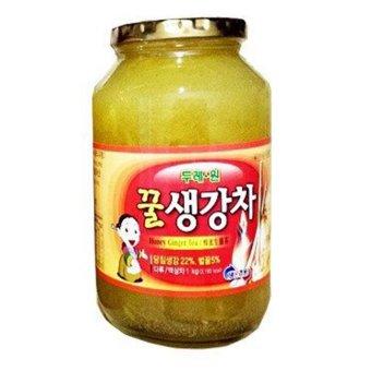 Mật ong gừng Hàn Quốc