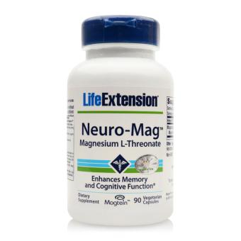 Viên uống bổ sung magie tăng cường trí nhớ cho người bị Alzheimer Life Extension Neuro-Mag Magnesium L-Threonate 90 viên
