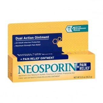 Thuốc bôi sơ cứu Neosporin + Pain Relief Maximum Strength- crème 14.2g