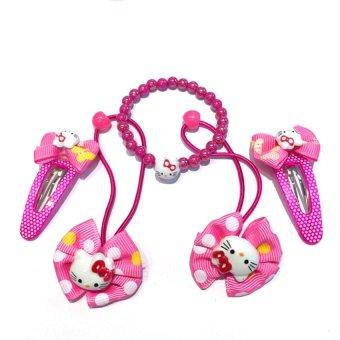 Bộ kẹp tóc dành cho bé gái MN515 Trang sức Minh Ngọc