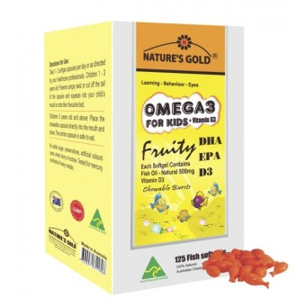 Dầu cá Omega 3 for kids + Vitamin D3