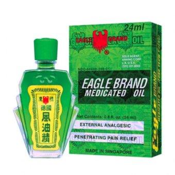 Dầu xanh Eagle Brand 2 nắp 24ml
