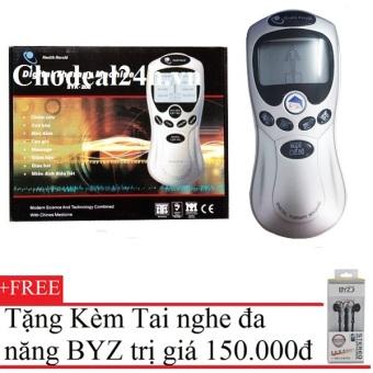 Máy mát-xa trị liệu Health Herald SYK-208 (Xám) + Tặng Tai Nghe BYZ S389