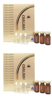 Bộ 2 hộp 3 lọ tinh chất Carlmark Bio-nano Concentrated Liquid Collagen 100% 10ml x 3 x 2
