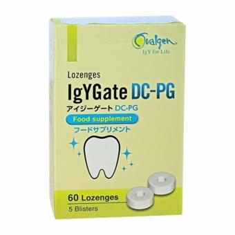 Viêm ngậm ngừa sâu răng viêm nướu chiết xuất kháng thể IgY từ lòng đỏ trứng gà Ovalgen IgYGate DC-PG