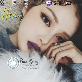 Kính áp tròng Hera BUA Gray (xám xanh)
