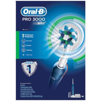 Bàn chải đánh răng điện Oral-B Pro 3000
