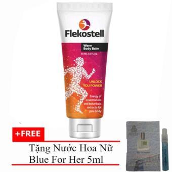 Kem Flekosteel Điều Trị Viêm Xương Khớp Và Thoát Vị Đĩa Đệm 50ml + Tặng Nước Hoa Nữ Blue For Her Eau De Parfum 5ml