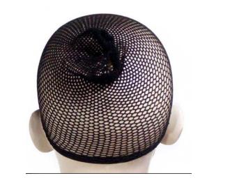 Bộ 2 tóc giả lưới Nylon Stretchable Black Hair Wig Mesh Net Wig Cap