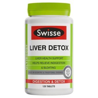 Viên uống bổ gan và giải độc gan Swisse Liver Detox