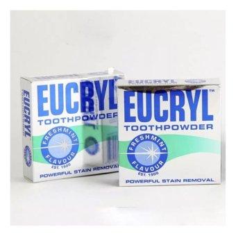 Bộ 2 Hộp Bột Tẩy Trắng Răng Eucryl