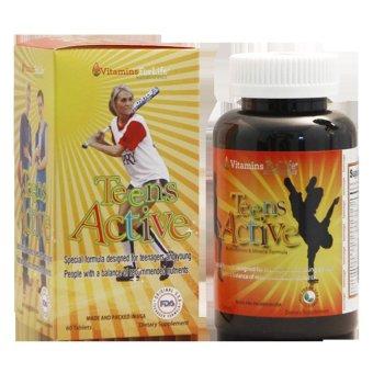 Viên bổ sung Vitamin và khoáng chất cho thiếu niên Teen's Active 60 viên