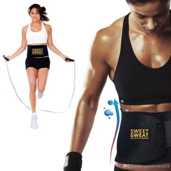 Đai Quấn Nóng Giảm Mỡ Bụng Sweat Belt giảm eo hiệu quả