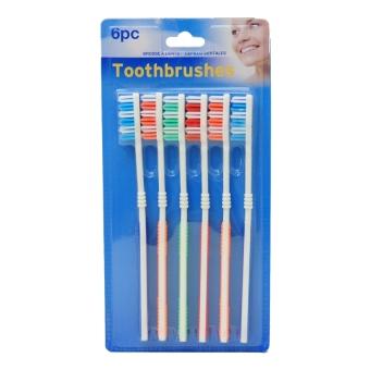 Bộ bàn chải đánh răng 6 cái UBL AT0002