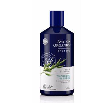 Dầu gội đầu giúp dày tóc Avalon Organics Biotin B-Complex Thickening Shampoo 414ml