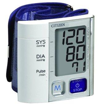 Máy đo huyết áp cổ tay Citizen CH-657 (Trắng)
