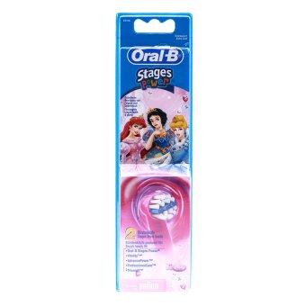Vỉ 2 đầu bàn chải điện Braun Oral-B stages power (Công chúa)
