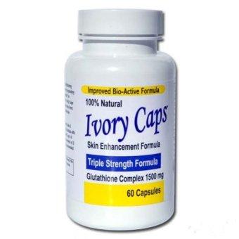 Viên uống trắng da Ivory Caps Vitamin C 60 viên