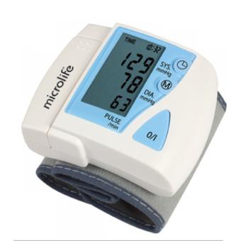 Máy đo huyết cổ tay Microlife 3BU1-3 (Trắng)