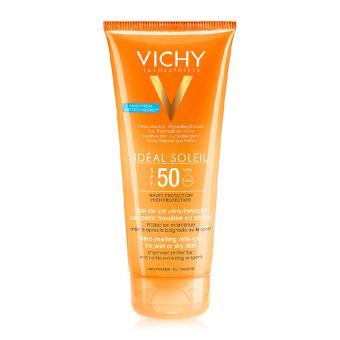 Kem chống nắng toàn thân dạng Gel sữa không gây nhờn rít Vichy Ideal Soleil Milk Gel SPF50 200ml