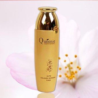 Nước hoa hồng dưỡng trắng da, bổ sung collagen Queenie 150 ml